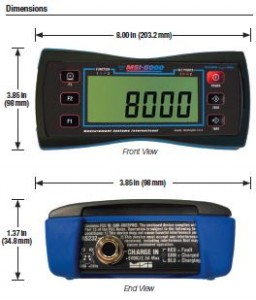 rice lake weighing systems, MSI-8000 Display, avery weightronix