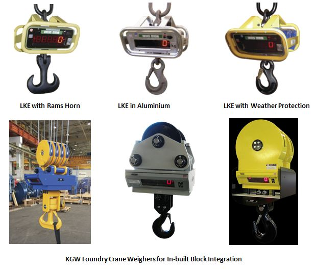 crane scales, foundry scales, special purpose crane scales