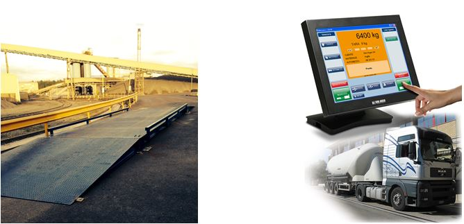 Surface Mounted Weighbridge & Software